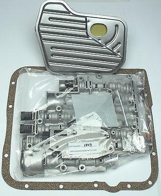 4L60E VALVE BODY KIT OIL FILTER PAN GASKET 4216995 2003-08 FULL SONNAX UPDATES