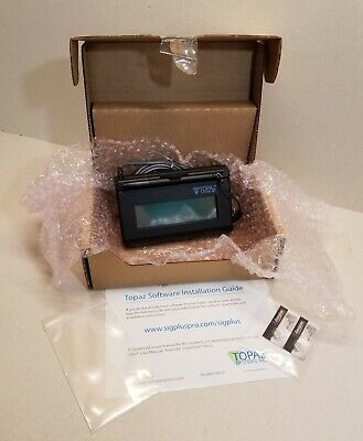 New Topaz Systems Siglite Usb Electronic Signature Capture Pad T-l460-hsb-r