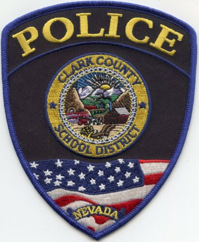 CLARK COUNTY NEVADA NV SCHOOL DISTRICT POLICE PATCH
