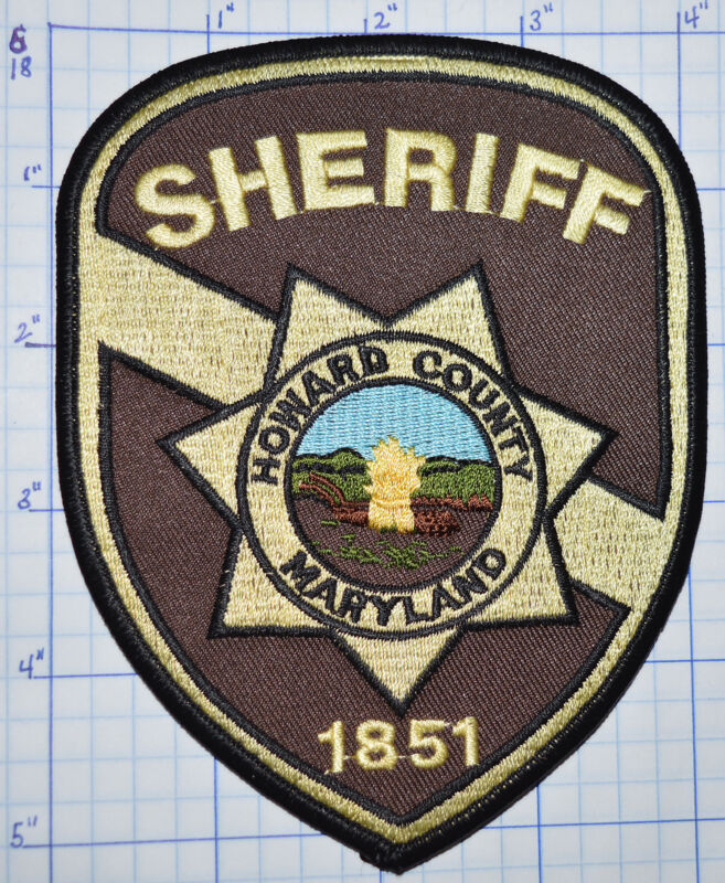 MARYLAND, HOWARD COUNTY SHERIFF DEPT PATCH