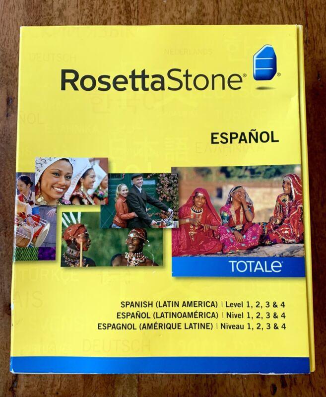 New Sealed Rosetta Stone Espanol Totale Version 4 (Spanish, Latin America)
