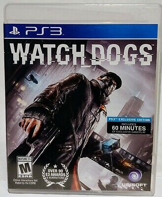 Watch Dogs Playstation 3 PS3  NICE !, used for sale  Shipping to Nigeria