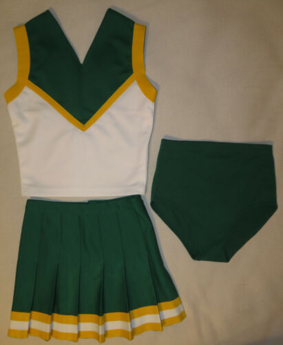 Authentic 3 Piece Vintage Cheerleader Uniform