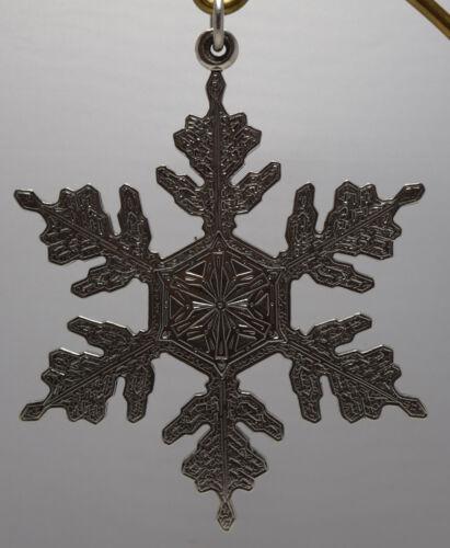 Buccellati Italy 1995 All Sterling Annual Ornament - Snowflake