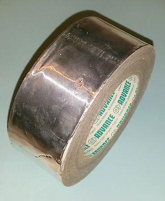 Advance Tapes AT500 Aluminium Foil Tape 50mm x 45m Self Adhesive Insulation Duct