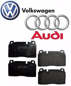For Audi Q5 SQ5 Front Brake Pad Set Genuine 8R0 698 151J