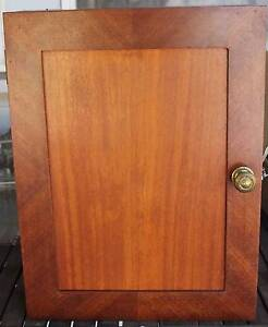 Vintage medicine-make-up cabinet, gloss antique timber Williamstown Hobsons Bay Area Preview