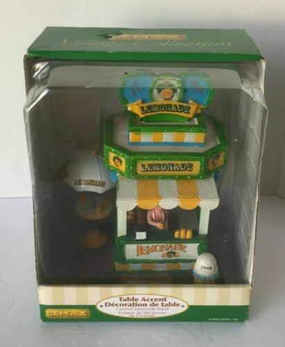 Lemax Christmas Carnival Village 2008 Lemonade 83686 MIB Retired 2014 RARE HTF