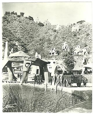 Planet of the Apes Movie photograph of the Ape village Photo POTA 1970