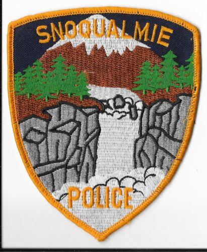 Snoqualmie Police Department, Washington Shoulder Patch