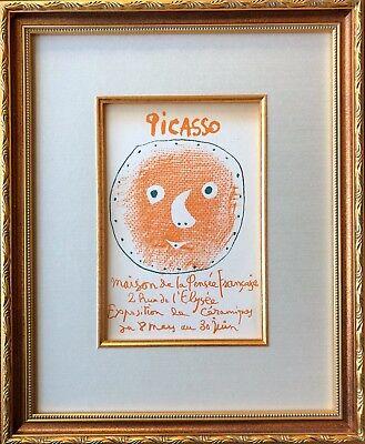 Pablo Picasso - Cover for Ceramics Catalog - Original Mourlot Lithograph 1957