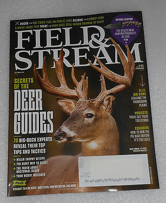 Field Stream Magazine Deer Guides Best New Hunting Products September