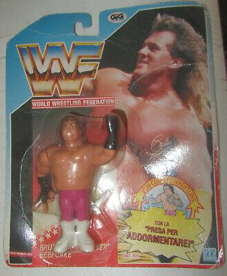 World Wrestling Federation WWF action figures Brutus The Barber MOC SPESE GRATIS