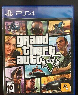 Grand Theft Auto V (Sony PlayStation 4, 2014) - Mint Condition!