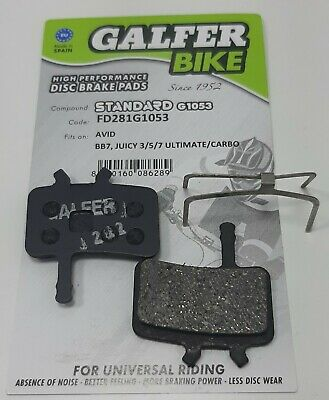 Pastilla de Freno Galfer BIKE Avid BB7, Juicy 3/5/7 Ultimate/Carbo FD281G1053
