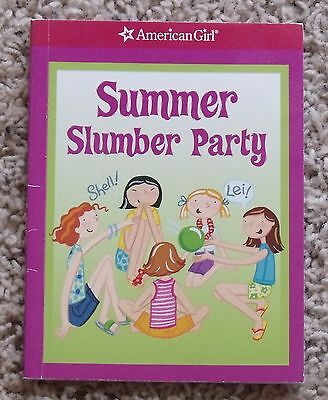 American Girl Summer Slumber Party Book Tropical Themed Ideas