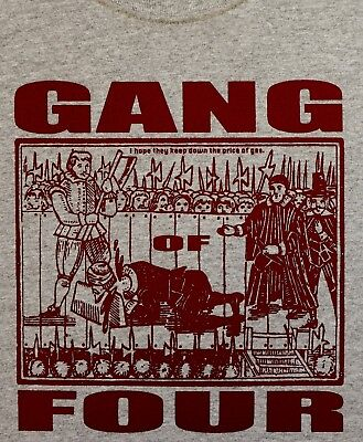 Gang of Four t shirt Entertainment Solid