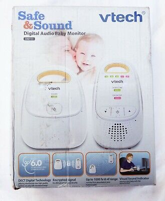 VTech (DM111) Digital Audio Baby Monitor - White with High Quality Sound