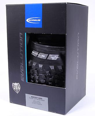 Schwalbe Rocket Ron LiteSkin MTB Tire, 27.5 x 2.8,Folding,PaceStar Compound