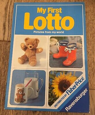 Vintage My First Lotto Fisher Price Ravensburger