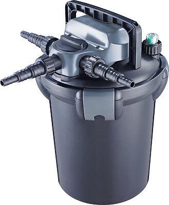 Jebao CBF Bio Pressure Fish Pond Filter + UVC Back Wash Flush System 4000-15000L
