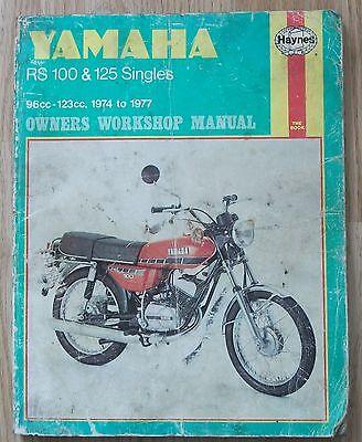 Yamaha RS100 & 125 singles 1974-1977 Haynes 331