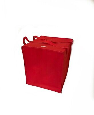 Insulated Delivery Grocery Lunch Tote Cooler Bag 13x13x15 Height