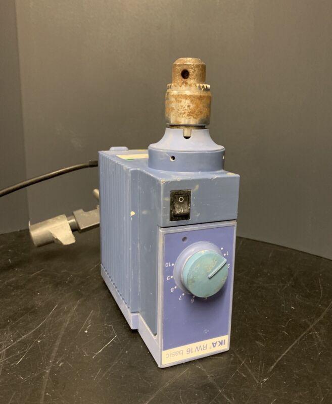 IKA RW 16 RW16 BASIC S1 Overhead Laboratory Stirrer