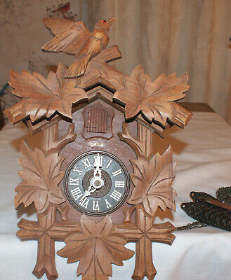 Vintage German Cuckoo Clock for Parts and/or Repair