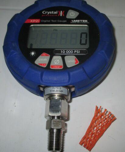 Ametek / Crystal Engineering Digital Pressure Gage, XP2i,  10 kpsi