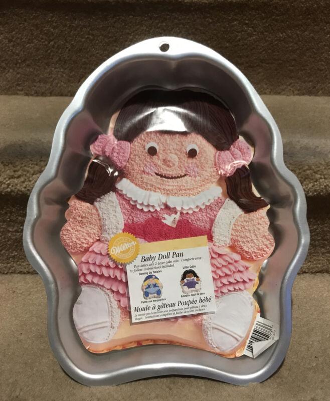 Wilton Baby Doll Cake Pan Mold - NEW