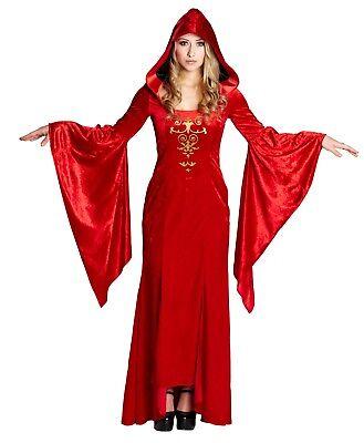 Rubies 13760 - Gothic Robe, Vampir, Halloween Damen Kostüm, Gr. 36 - 48 (Vampir Halloween Damen Kostüm)
