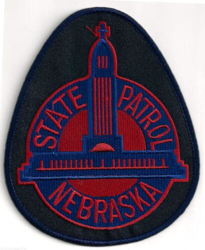 STATE PATROL OF NEBRASKA  - SHOULDER PATCH - IRON OR SEW-ON PATCH