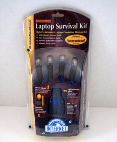 Monster Laptop Survival Kit High Performance Laptop Computer Hookup Kit