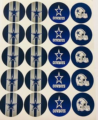 Dallas Cowboy Party (SET of 20- 2