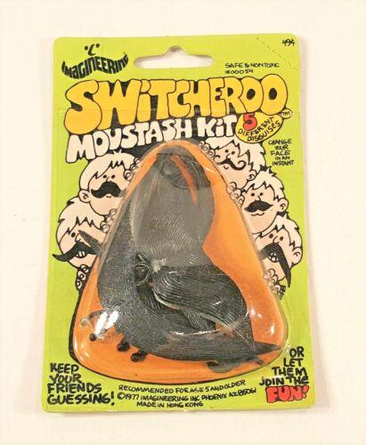 VINTAGE NEW 1977 IMAGINEERING SWITCHEROO MOUSTASH KIT HALLOWEEN MAKEUP PROP