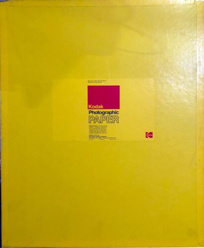 "Box of 50 - Vintage Kodak Ektabrone SC F Photographic Paper 16""x20"" (unopened)"