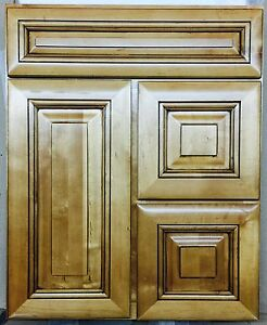 Beau TBA All Wood Italian Hickory Bathroom Vanity Cabinet ITHF 2421D 34