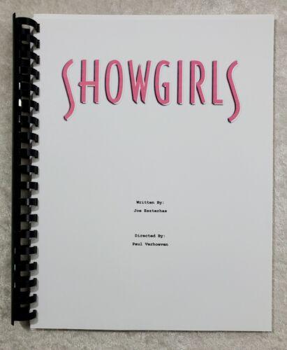 Showgirls Movie Script Reprint Screenplay Film Script 1995 Elizabeth Berkley