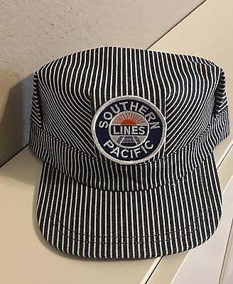 Adult Conductor Hat (Engineer/Conductor Cap /Hat- SP Southern Pacific- adjustable-Adult or Child-NEW)