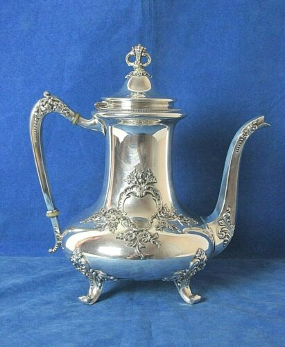 EXQUISITE REED & BARTON SILVER PLATED TEAPOT PAT. DATE JUNE 29TH 1897
