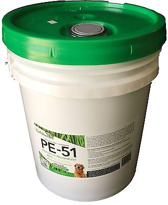 Enzyme Cleaner Urine - 5 Gallons of PE-51 Urine odor remover enzyme cleaner for artificial grass turf