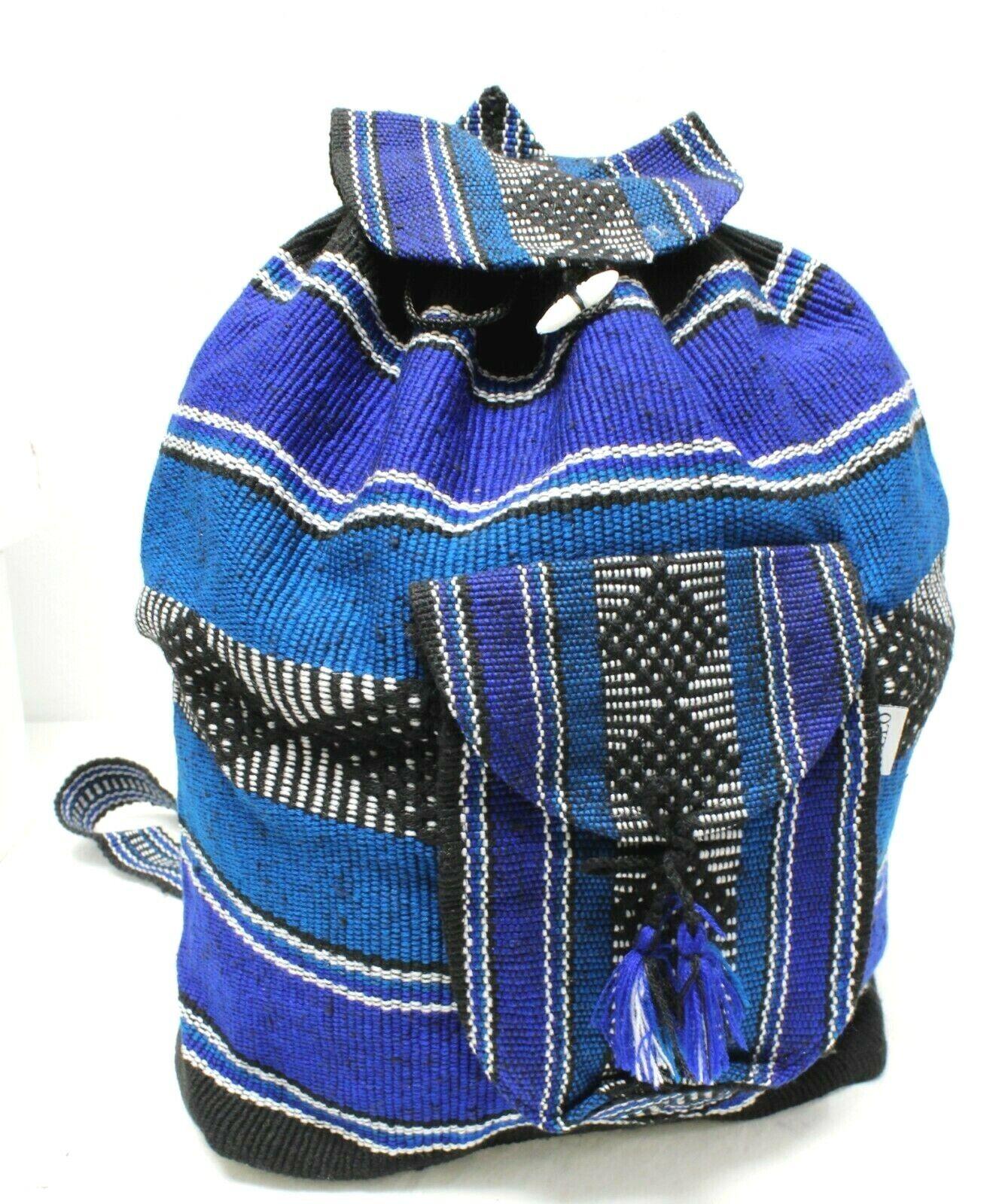 authentic mexican backpack mayan 8 cloth handbag