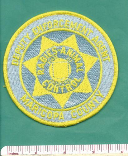 Maricopa County AZ State Arizona Deputy Agent Rabies Animal Control Police Patch