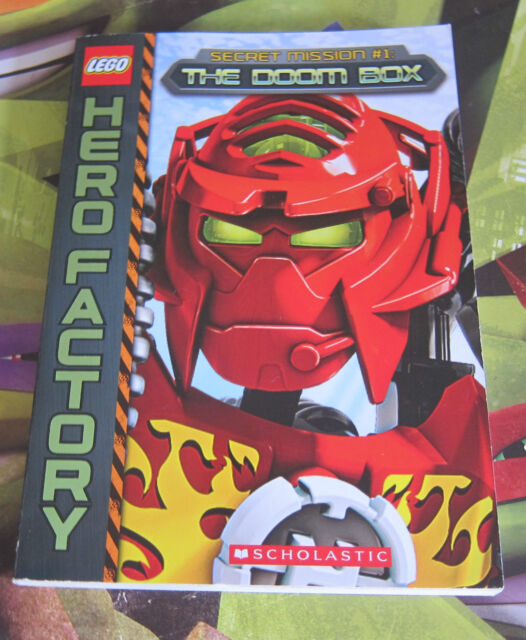 Lego Hero Factory: Secret Mission #1: The Doom Box (Paperback, 2013) - NEW