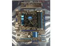 4GB RAM Intel DH55HC LGA1156 Motherboard ATX Intel i3 540 3.06GHz