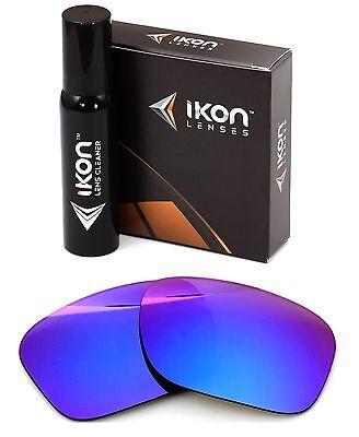 Polarized IKON Iridium Replacement Lenses For Oakley Holbrook Violet (Holbrook Violet Iridium Polarized)