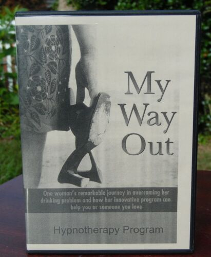 My Way Out Hypnotherapy Alcohol addiction alcoholism stop drinking 4 Disc Set