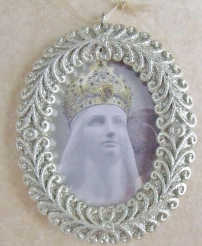 New Our Lady Virgin Mary of Knock Ireland Apparition Catholic Christmas Ornament