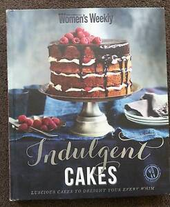 Indulgent Cakes by Australian Women's Weekly. Hardcover cookbook Victoria Park Victoria Park Area Preview